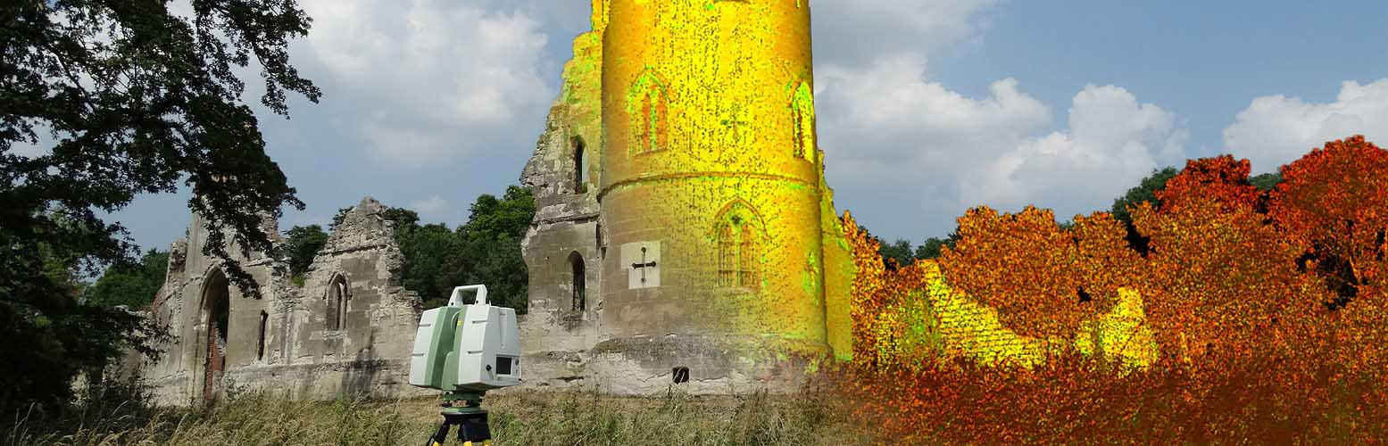 3D Laser Scanning - Wimpole Gothic