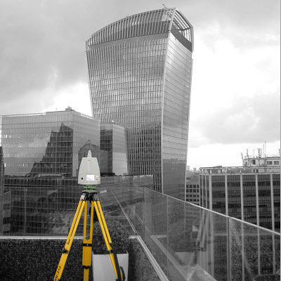 Laser Scanning The Shard